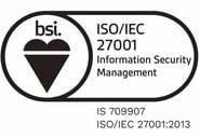 BSI Assurance Mark ISO 27001 SJ
